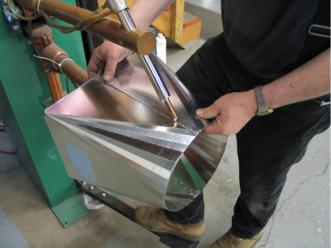 Garry Sala Welding Square to Round