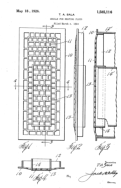 Grille and Heating Flues Patent # 01585116 - Sala Invention