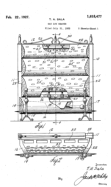 Gas Log Heater Patent # 01618477 - Sala Invention