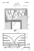 Fireplace Heater Patent # 01497123 - Sala Invention